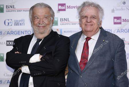 Stock Photo of Pupi Avati and Antonio Avati