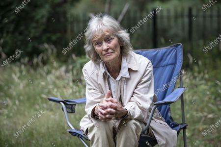 Editorial image of Virginia McKenna OBE fundraising walk, Hampstead Heath, London, UK - 06 Jul 2020