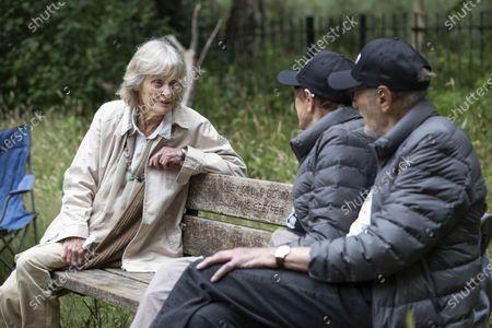 Editorial picture of Virginia McKenna OBE fundraising walk, Hampstead Heath, London, UK - 06 Jul 2020