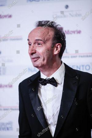 Director and actor Roberto Benigni