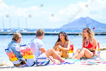 Jaxon Human and Shelby Mills and Josh Moss and Amelia Plummer go on a date
