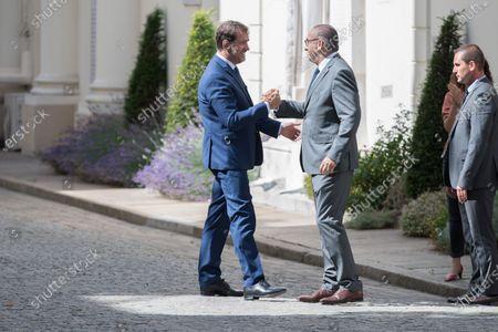 Editorial picture of Handover ceremony between Gerald Darmanin and Christophe Castaner, Paris, France - 07 Jul 2020