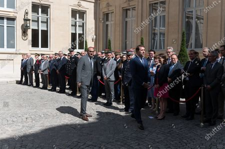 Editorial image of Handover ceremony between Gerald Darmanin and Christophe Castaner, Paris, France - 07 Jul 2020