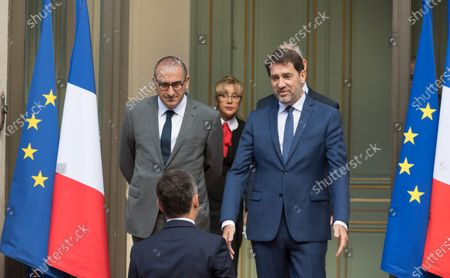 Laurent Nunez, Gerald Darmanin and Christophe Castaner.