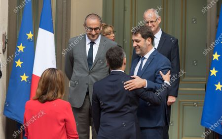 Marlen Schiappa, Laurent Nunez, Gerald Darmanin and Christophe Castaner.
