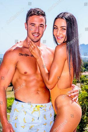 Grant Crapp and Tayla Damir