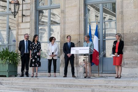 Editorial image of New government transfer of power to the Ministry of Ecology, Paris, France - 07 Jul 2020