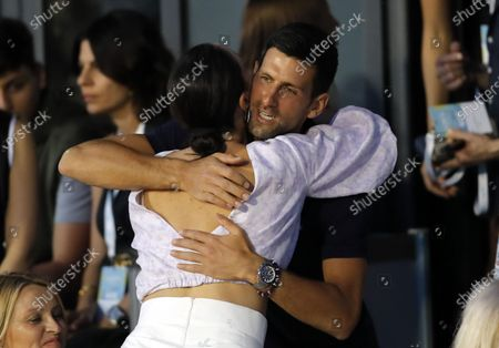 Editorial photo of Adria Tour tennis charity tournament, Belgrade, Serbia - 14 Jun 2020