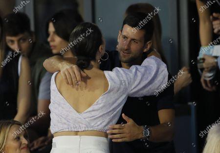 Jelena Jankovic Novak Djokovic