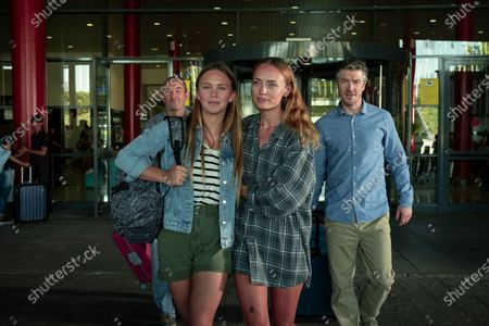 Francis Magee as Clint Collins, Tallulah Evans as Jenny Walker, Laura Haddock as Zoe Walker and Barry Ward as Mike Collins