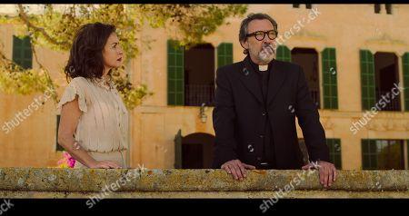 Belen Lopez as Conchita Calafat and Gines Garcia Millan as Rafael