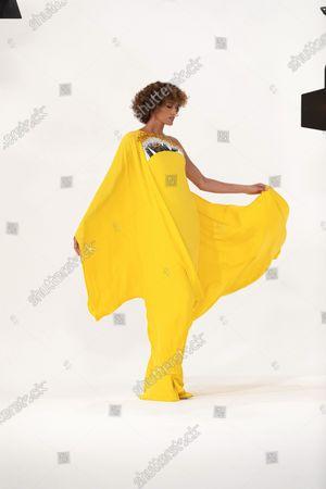 Editorial image of Stephane Rolland Haute Couture Autumn Winter photoshoot, Paris, France - 03 Jul 2020