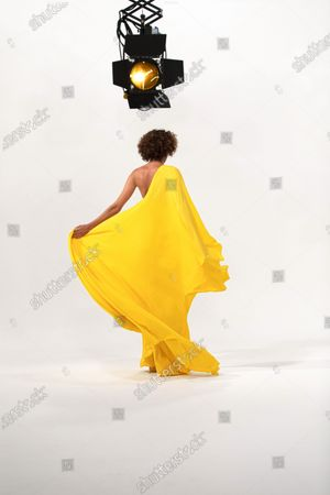 Stock Picture of Stephane Rolland Haute Couture presentation
