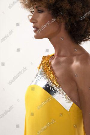 Editorial photo of Stephane Rolland Haute Couture Autumn Winter photoshoot, Paris, France - 03 Jul 2020