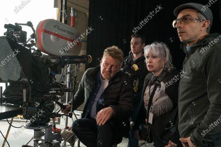 Kenneth Branagh Director, Carol Hemming Hair and Makeup Designer and Haris Zambarloukos Cinematographer