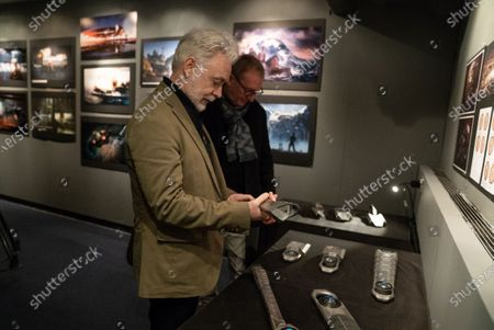 Stock Photo of Eoin Colfer Book Author andJim Clay Production Designer