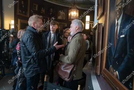 Kenneth Branagh Director and Eoin Colfer Book Author