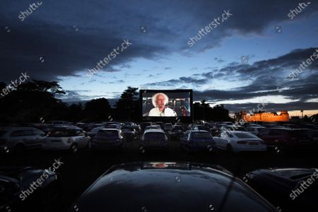 A Luna Cinema screening of Back to the Future at Blenheim Palace.