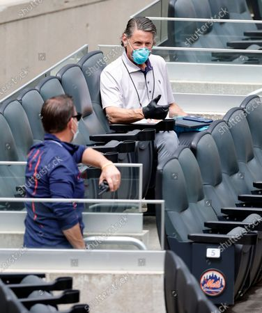 Editorial photo of New York Mets Summer Camp, Flushing Meadows, USA - 07 Jul 2020