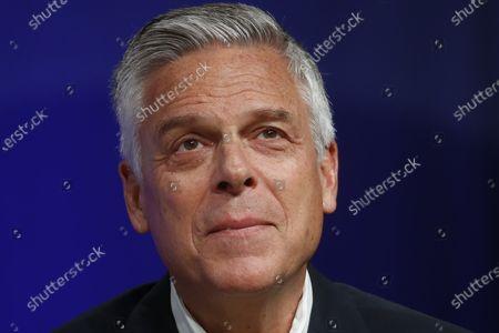 Editorial image of Election 2020 Utah Governor, Salt Lake City, United States - 20 May 2020