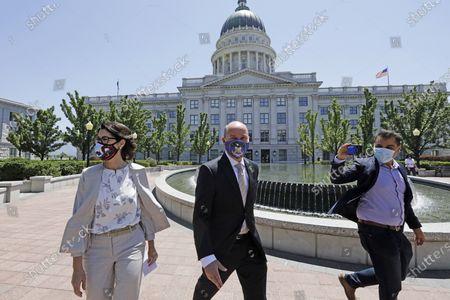 Editorial photo of Election 2020 Utah Governor, Salt Lake City, United States - 07 Jul 2020