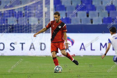 "Mario Suarez (Rayo) - Football / Soccer : Spanish ""La Liga SmartBank"" match between Real Zaragoza 2-4 Rayo Vallecano at the Estadio de La Romareda in Zaragoza, Spain."