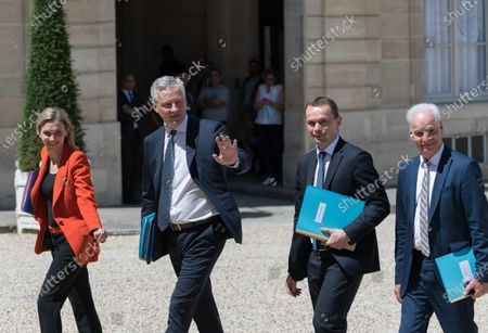 Weekly meeting of the French Cabinet, Paris