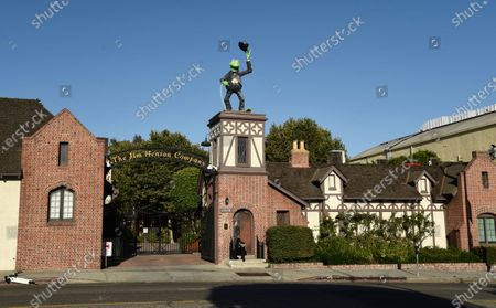 Stock Image of The Jim Henson Company is pictured, in the Hollywood section of Los Angeles