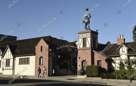 The Jim Henson Company is pictured, in the Hollywood section of Los Angeles