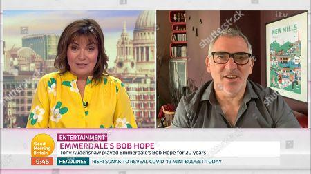 Lorraine Kelly and Tony Audenshaw