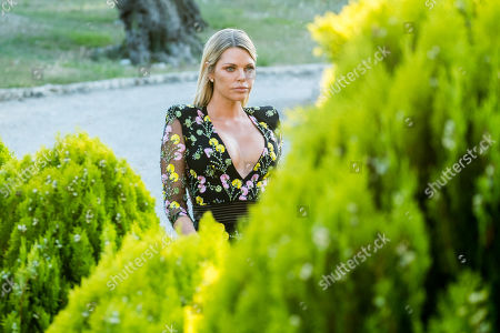Stock Image of Sophie Monk arrives for the recouping.