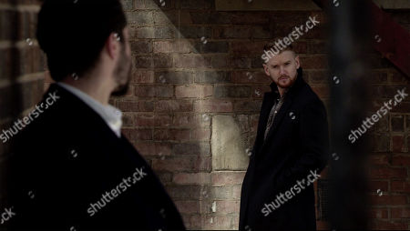 Ep 10091 Wednesday 22nd July 2020 Adam Barlow, as played by Sam Robertson, approaches Gary Windass, as played by Mikey North, and accuses him of killing Rick Neelan. Gary's dismissive but rattled.