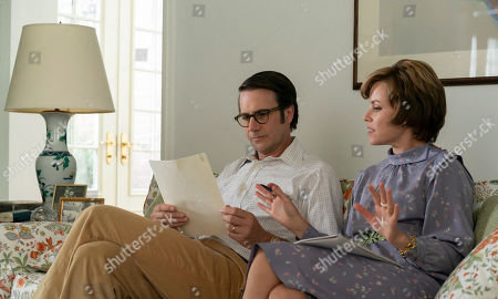 Josh Hamilton as Bill Ruckelshaus and Elizabeth Banks as Jill Ruckelshaus