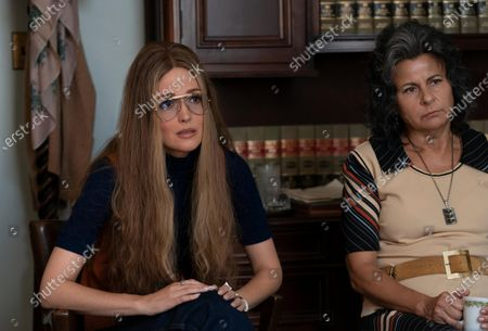 Rose Byrne as Gloria Steinem and Tracey Ullman as Betty Friedan