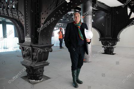 Editorial image of Architect, Dominique Perrault, Paris, France - 08 Jul 2020