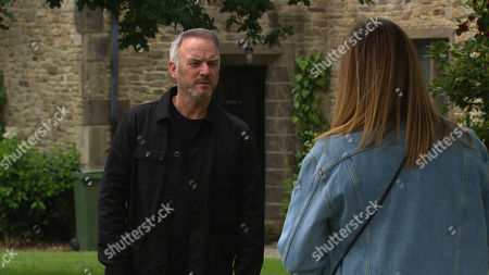 Ep 8812 Friday 24th July 2020 Harriet Finch, as played by Katherine Dow Blyton, is completely floored when Malone, as played by Mark Womack, admits he can't let her marry Will because he is still in love with her. Malone suggests they run away and start a new life together, which leaves Harriet reeling.