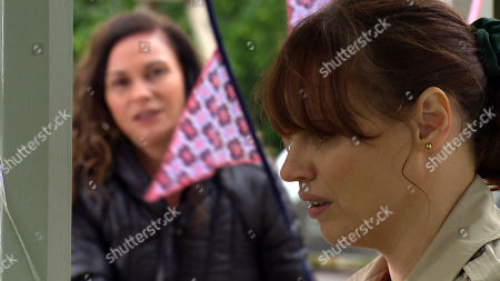 Ep 8810 Monday 20th July 2020 Lydia Dingle, as played by Karen Blick, opens up to Chas Dingle, as played by Lucy Pargeter, about the prospect of her Huntington's diagnosis. Chas empathises with Lydia's paranoia about the Huntington's test, but tells her that taking it is the only way to know for sure. Lydia has a choice to make...