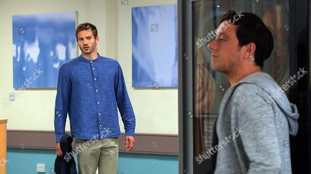 Ep 8807 Monday 13th July 2020 Arriving at the hospital, a disheveled Jamie Tate, as played by Alexander Lincoln, is approached by Belle Dingle who senses something is wrong. Meanwhile, Matty Barton, as played by Ash Palmisciano, tells Belle the police are yet to locate any witnesses, when Jamie reacts curiously Belle continues to feel puzzled by his behavior.