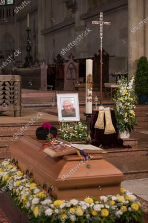 Editorial image of Burial of Georg Ratzinger, Regensburg, Germany - 08 Jul 2020