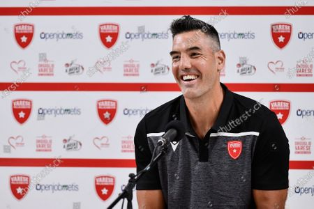 Argentine, Luis Scola of Pallacanestro Varese during the Press Conference in his new Italian Legabasket Serie A team. Luis Scola after Olimpia Milano chooses Varese basketball to play the last season before his fifth Olympics Games.