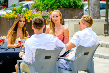 Kory Grant and Mark O'Dare meet Edyn Mackney, Millie Fuller and Shelby Mills for a date
