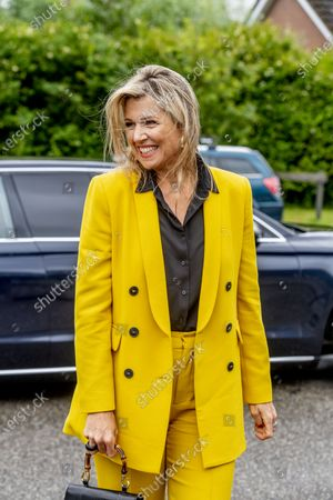 Queen Maxima visit to Oostkapelle