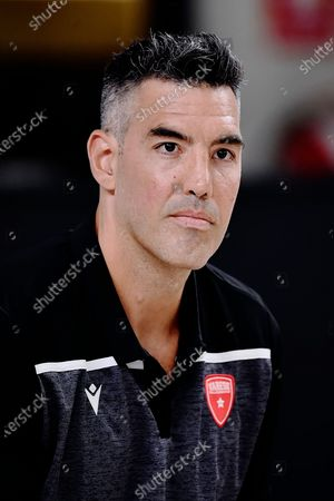 Argentine, Luis Scola of Pallacanestro Varese during a Press Conference in his new Italian Legabasket Serie A team at Enerxenia Arena. Luis Scola after Olimpia Milano chooses Varese basketball to play the last season before his fifth Olympics Games.
