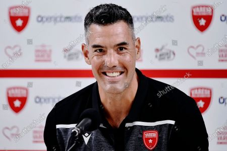 Editorial picture of Luis Scola press conference in Varese, Italy - 07 Jul 2020