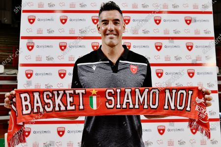Editorial image of Luis Scola press conference in Varese, Italy - 07 Jul 2020