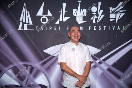 Director, Tsai Ming-Liang attends the press conference of the Taipei film festival to promote his new work 'Days' which is a closer film as well at Taipei Zhongshan Hall.