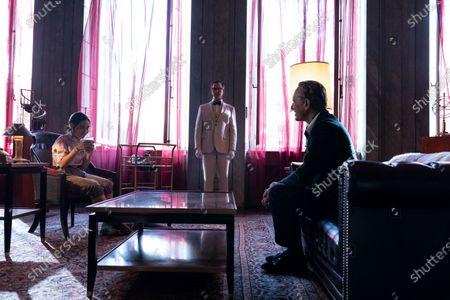 Cecilia Balagot as Clara and Richard E. Grant as Octavio Coleman