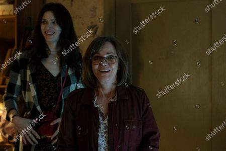 Eve Lindley as Simone and Sally Field as Janice