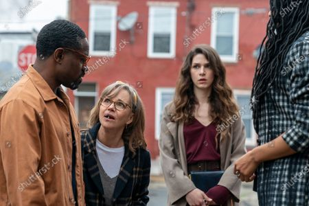 Stock Picture of Andre 3000 as Fredwynn, Sally Field as Janice, Eve Lindley as Simone and Cherise Boothe as Lee