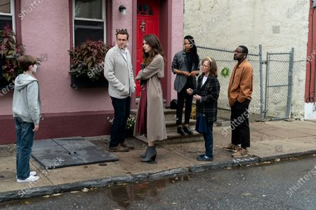 Travis Burnett as Clown Boy, Jason Segel as Peter, Eve Lindley as Simone, Cherese Boothe as Lee, Sally Field as Janice and Andre 3000 as Fredwynn